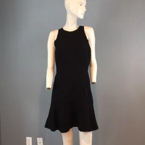 NWT Theory Black Sleeveless  A-Line Dress Sz 8